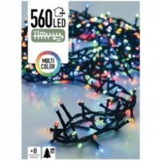 Micro Cluster 560 LED's 11 meter multicolor