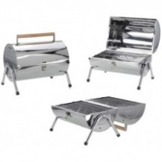 Cilinder Barbecue (RVS)