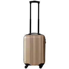 Ceruzo Trolley cabin size ABS (champagne)